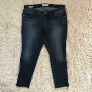 Torrid Boyfriend fit ankle jeans